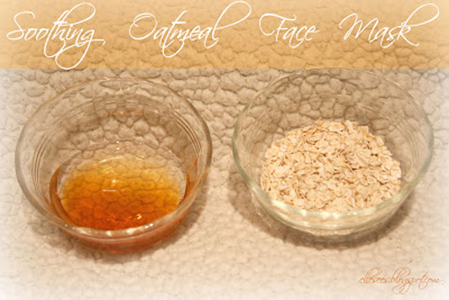 Diyhow to soothing oatmeal face mask the blog societies oatmeal face mask solutioingenieria Images