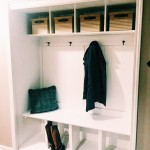 How To Turn a Closet Into A Mudroom - The Blog Societies