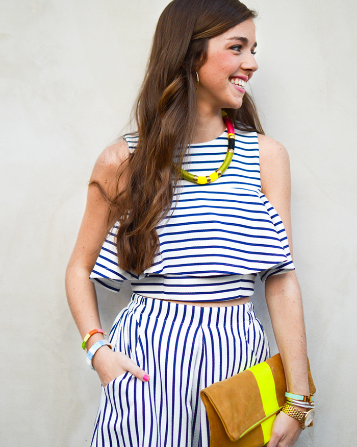 The Matching Striped Set - The Blog Societies