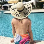 Message Straw Hat - The Blog Societies