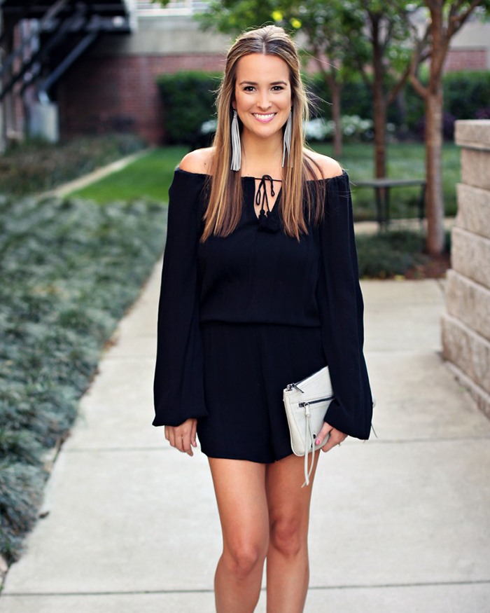 Little Black Romper - The Blog Societies