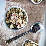 Asparagus Chickpea Mediterranean Couscous Salad