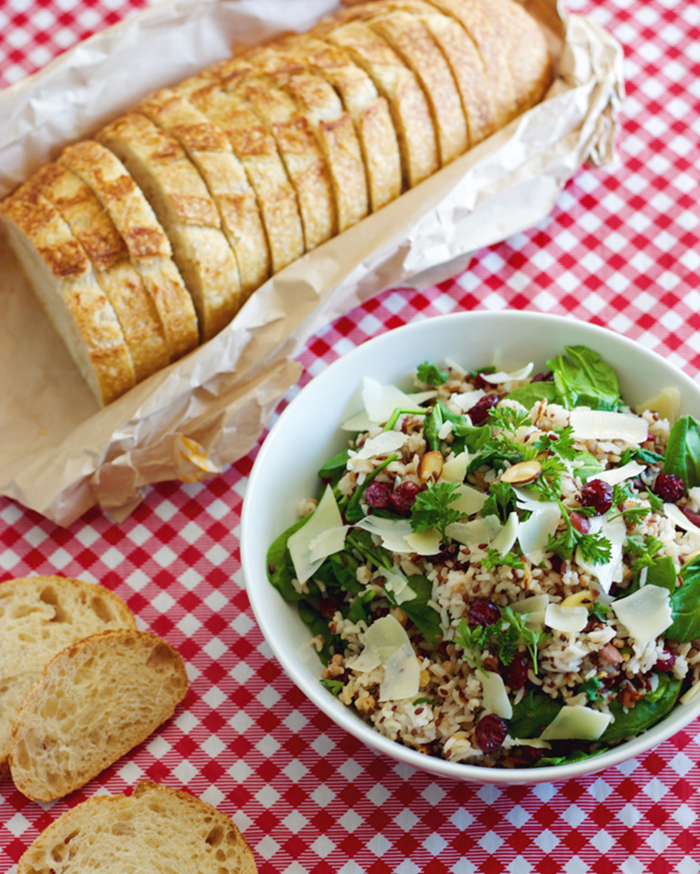 The Blog Societies - Wild Rice Salad