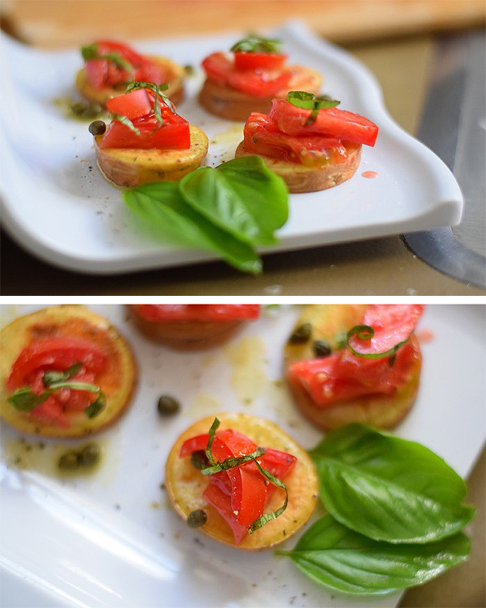 Sweet Potato Bruschetta Appetizer - The Blog Societies