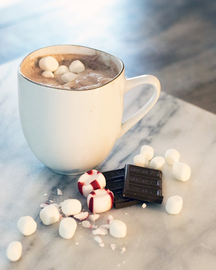 Fluffy Hot Chocolate - The Blog Societies