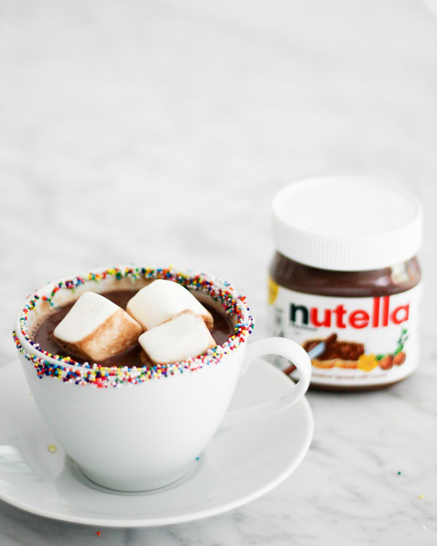 Nutella Hot Chocolate Recipe - The Blog Societies