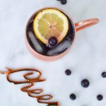 Blueberry Cranberry Moscow Mule - The Blog Societies