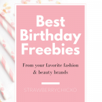 The Best Birthday Freebies - The Blog Societies