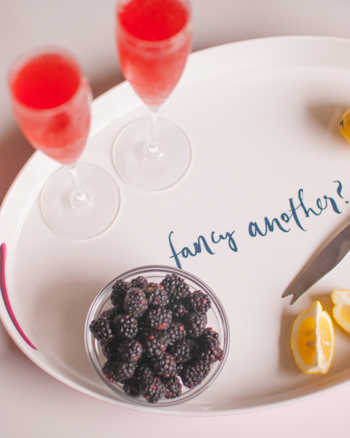 Classic Cocktail With A Twist: Berry Rose French 75 - The Blog Societies