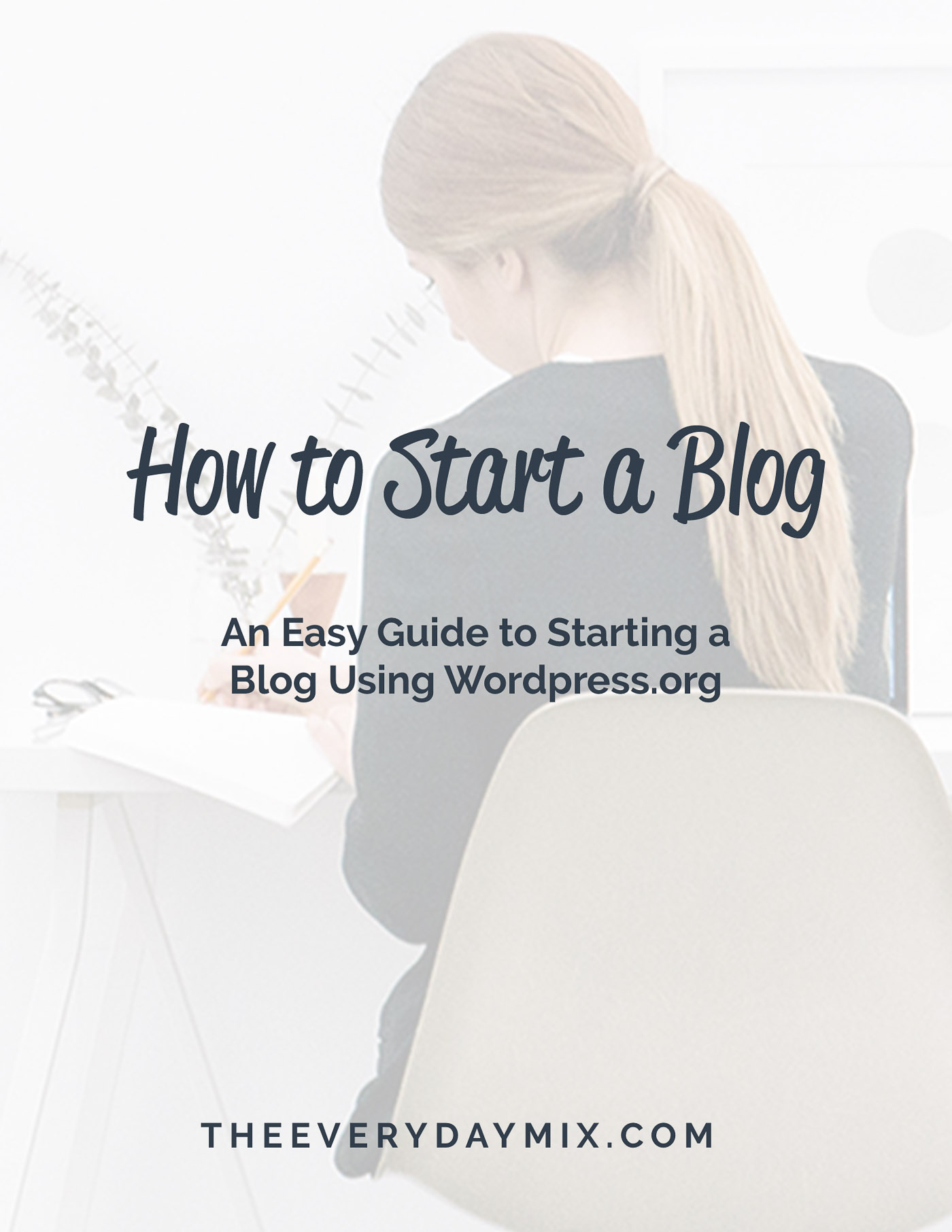 How To Start A Blog - The Blog Societies