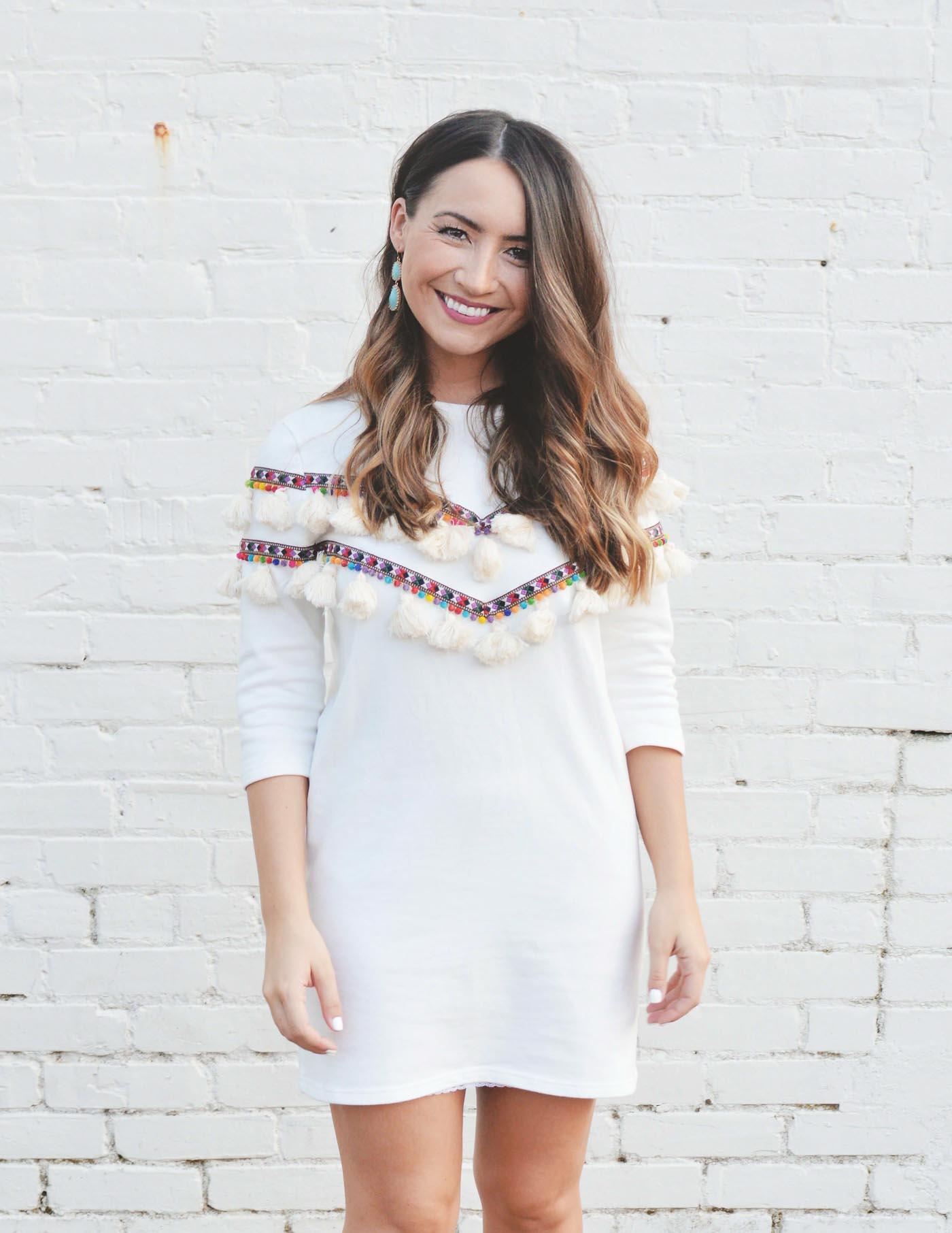 Tassel dress for summer - The Blog Societies (1 of 1)