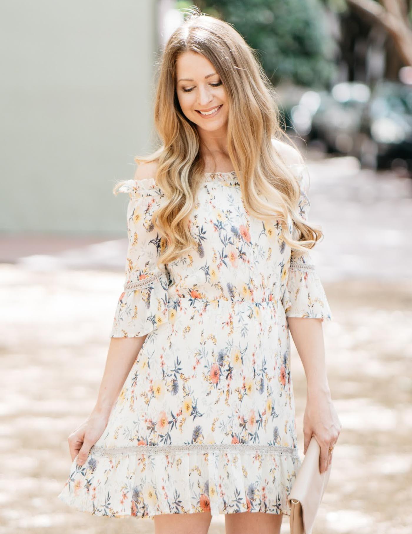 best floral dress for summer - The Blog Societies