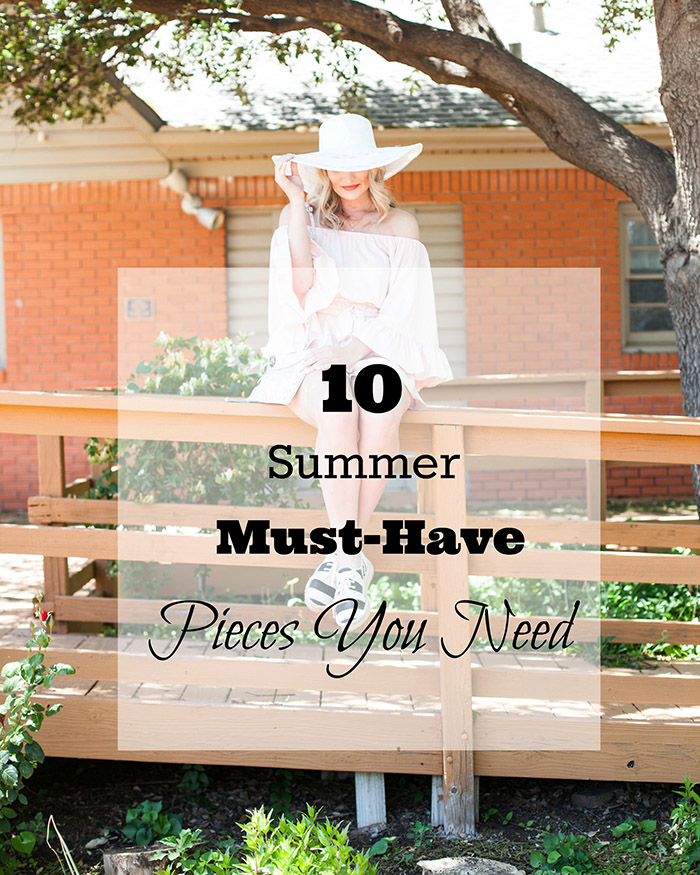 10 Summer Must Have Wardrobe Pieces - The Blog Societies