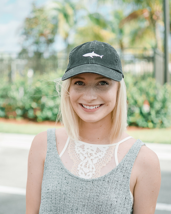 DIY Baseball Cap Shark Decal - The Blog Societies