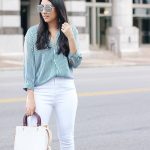 The Best Pair Of White Jeans - The Blog Societies