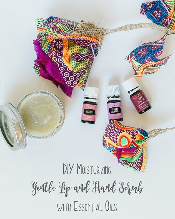 Gentle Lip and Hand Scrub With Essential Oils