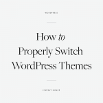 How To Switch WordPress Themes - The Blog Societies