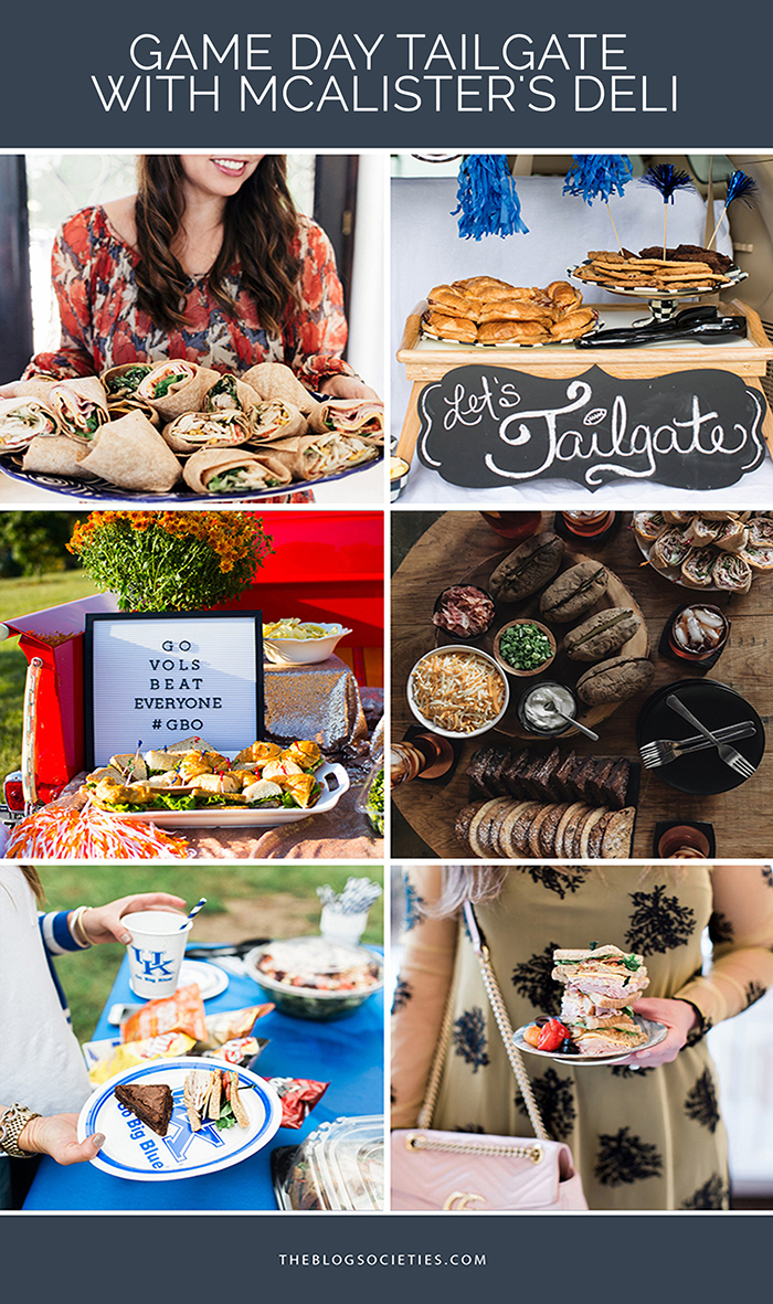 Game Day Tailgate With McAlister's Deli - The Blog Societies