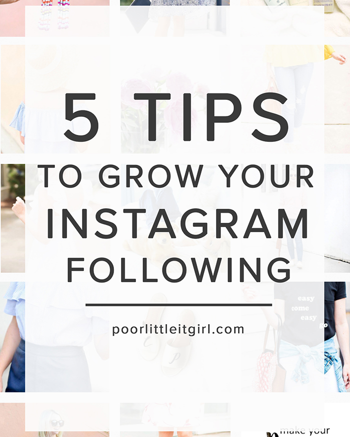 5 Tips To Grow Your Instagram Following - The Blog Societies