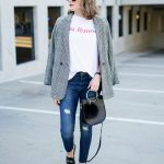 How To Style A Plaid Blazer - The Blog Societies