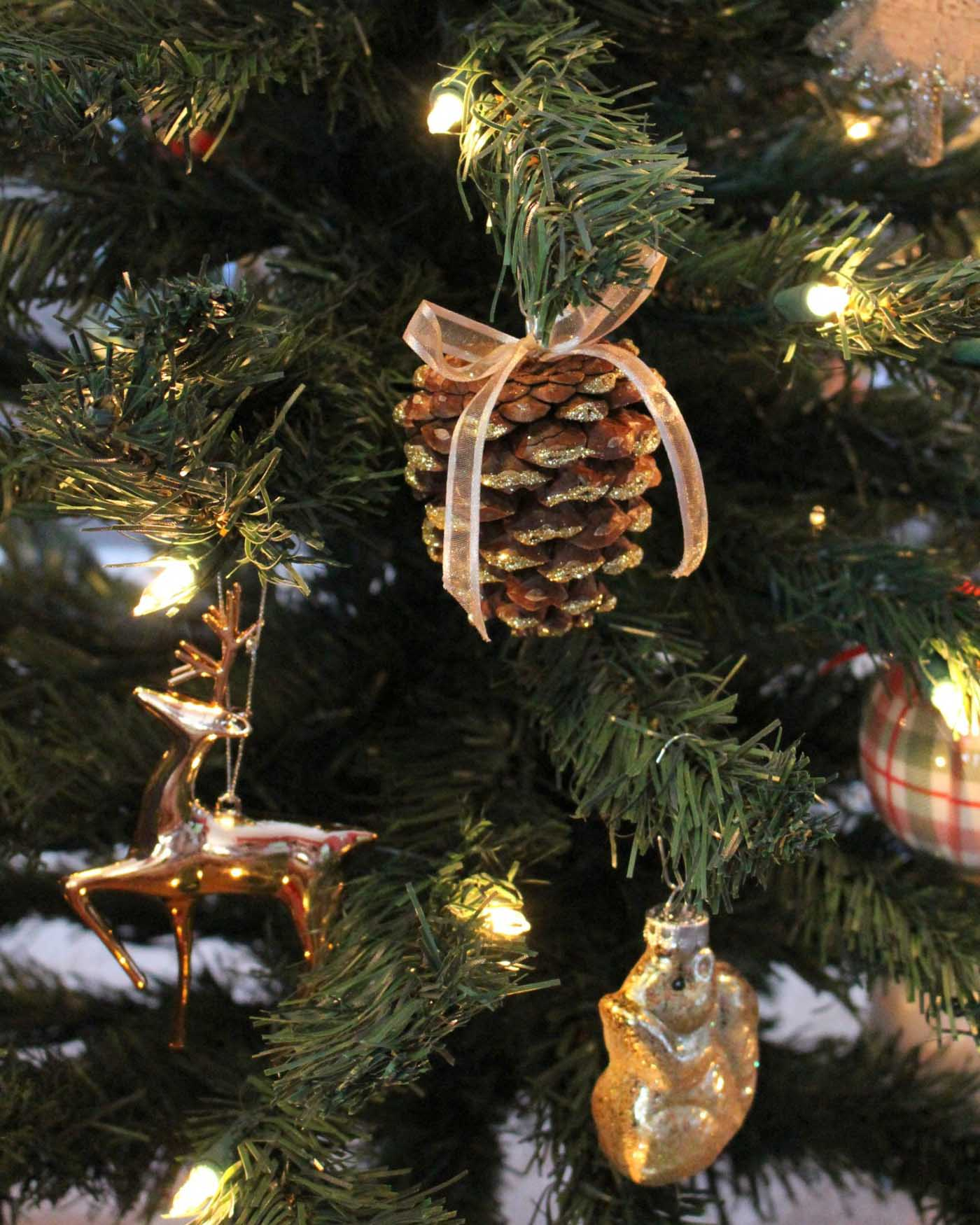 How To DIY Pinecone Ornaments For Christmas The Blog Socieites