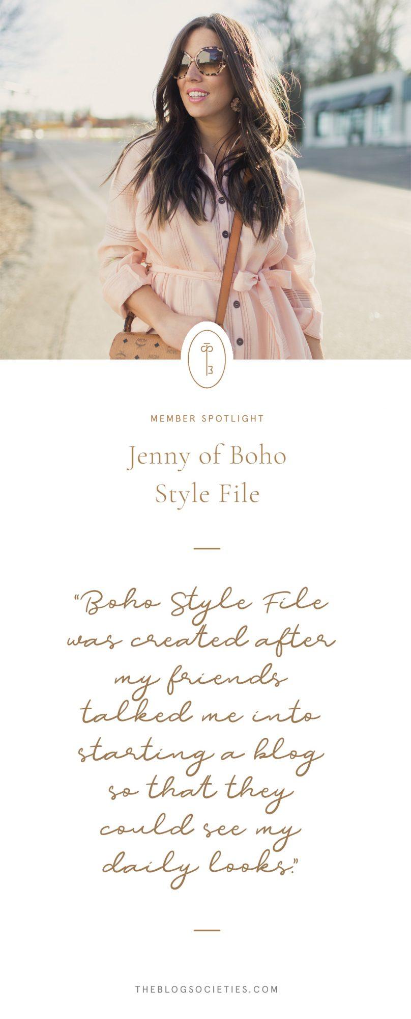 Meet Jenny Of Boho Style File Blog The Blog Societies