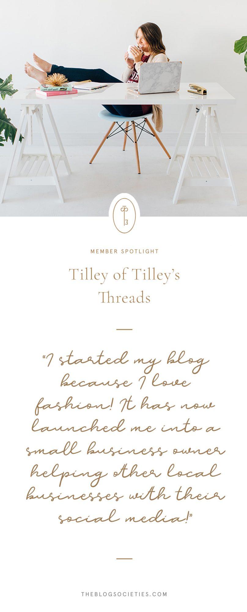 Tilley's Threads Blog