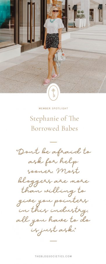 Stephanie of The Borrowed Babes