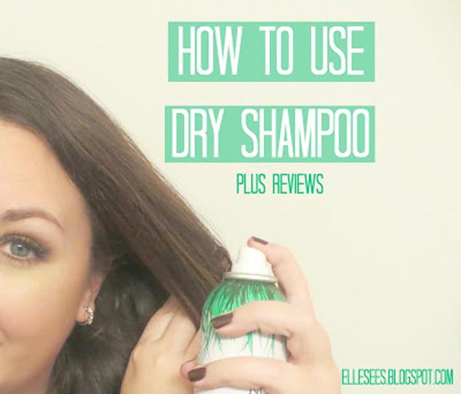 how to use dry shampoo reviews