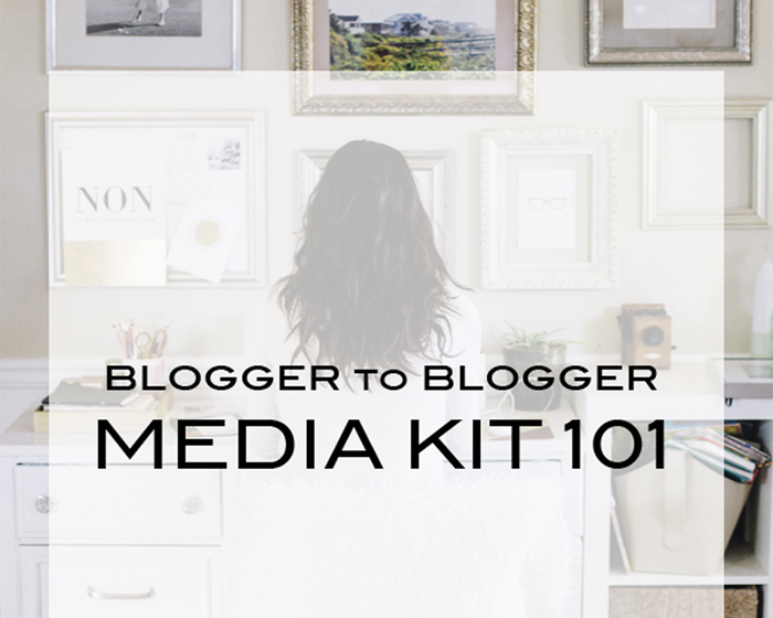 how to make a blog media kit, how to make a blogger media kit, tips to creating a blog media kit,