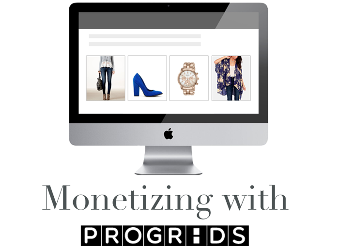 how to monetize your blog with progrids, how to monetize your website with product advertisement,