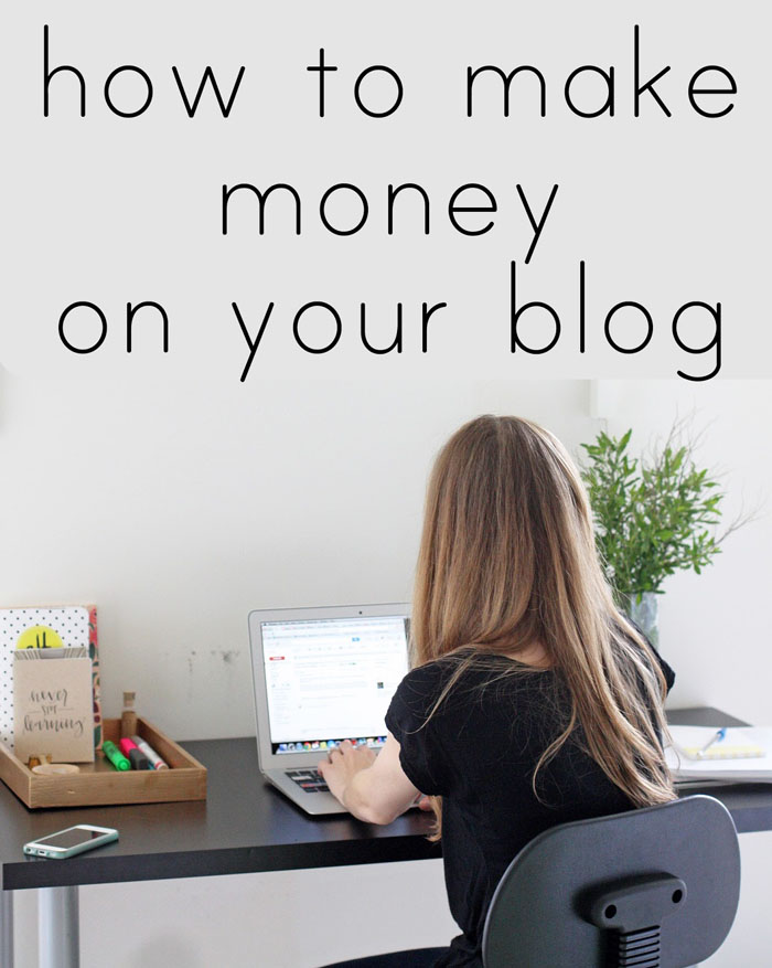 Make Money on Your Blog