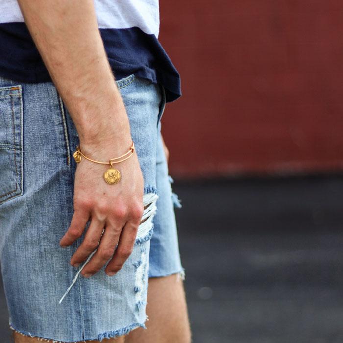 the-kentucky-gent-hammock-palms-sunglasses-hm-striped-t-shirt-levis-cut-off-shorts-zara-sandals-5