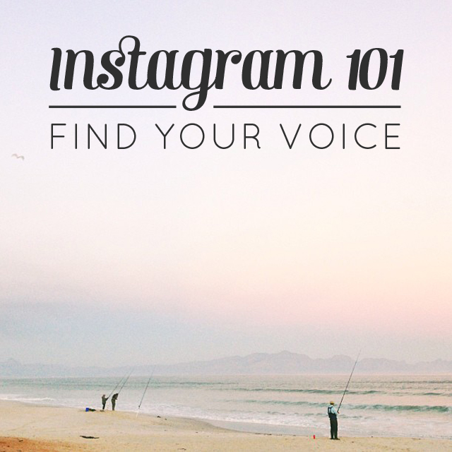 finding your voice on instagram