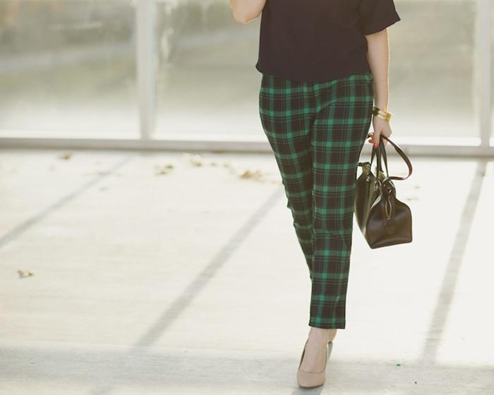 southern blog society, printed pants
