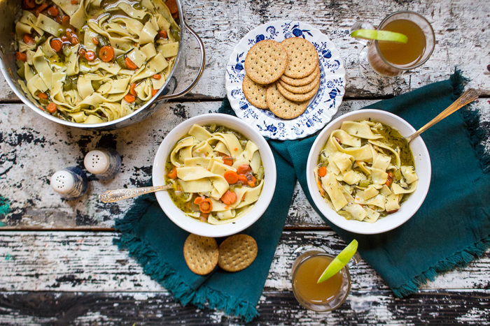 Southern Blog Society - Grandma's Chicken Noodle Soup