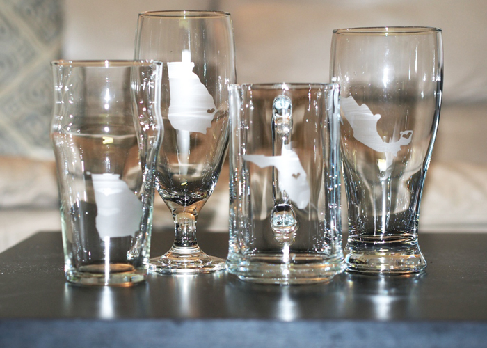 Southern Blog Society - How To Etch Glass