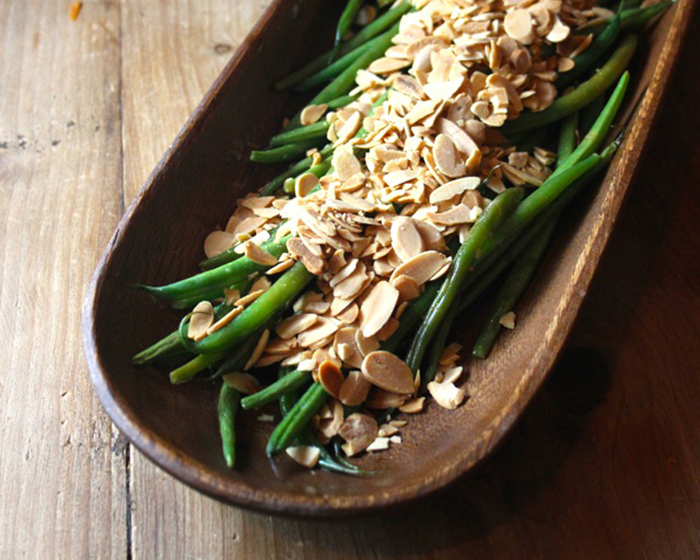 Southern Blog Society - Haricot Verts with Lemon Brown Butter and Toasted Almonds