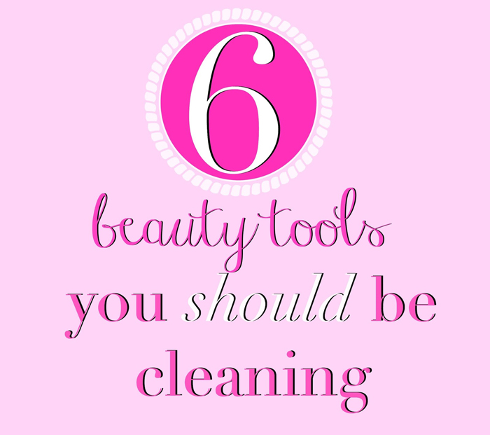 Southern Blog Society - Beauty Tools You Should Be Cleaning
