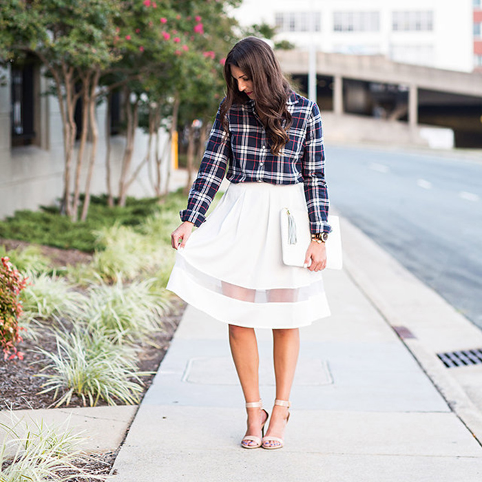 Fall Midi Skirt - The Blog Societies
