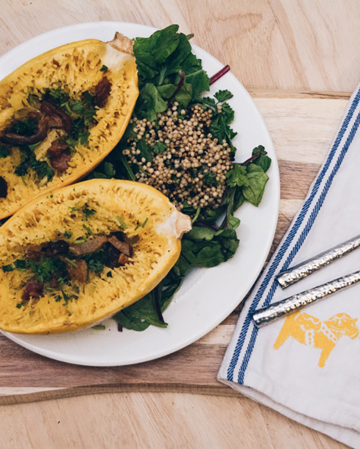 The Blog Societies - Roasted Spaghetti Squash - @theblogsocieties