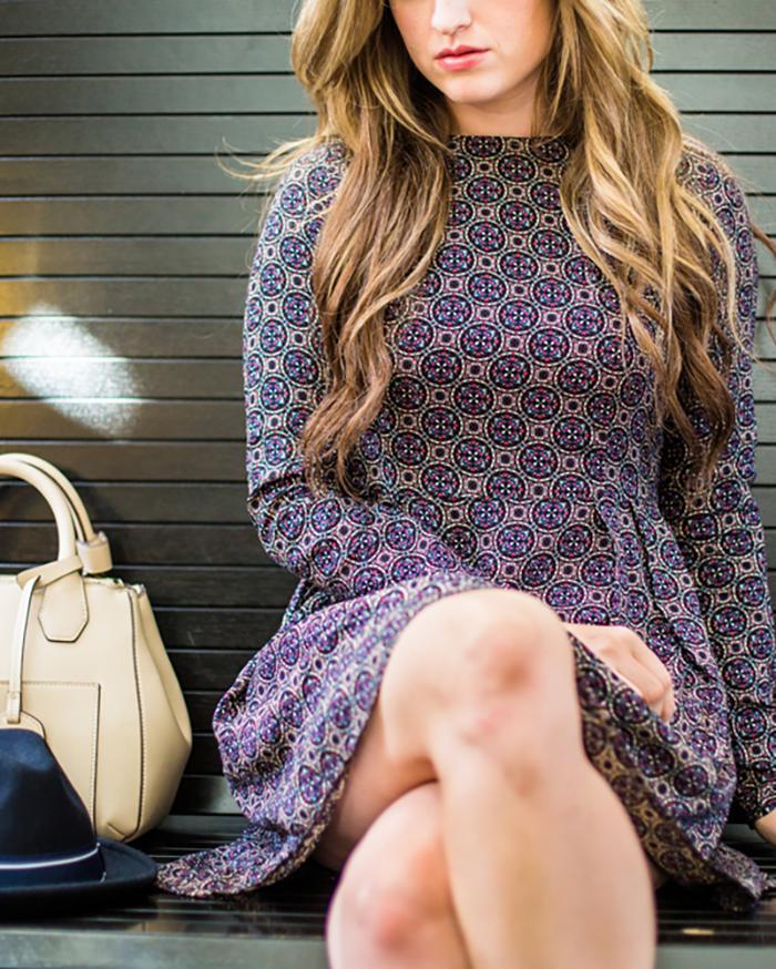 Printed Dress - The Blog Societies