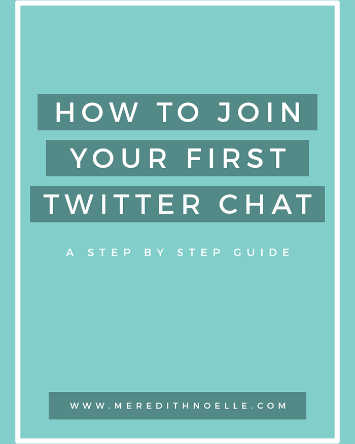 How To Join Your First Twitter Chat