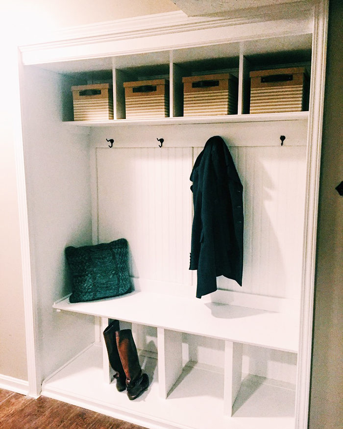 Charmant How To Turn A Closet Into A Mudroom   The Blog Societies