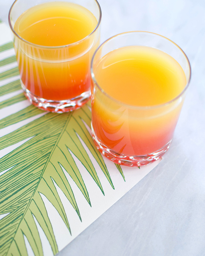 The Blog Societies - Pineapple Sunrise Cocktail