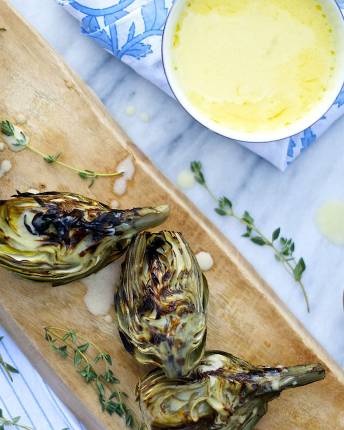 Grilled Artichokes - The Blog Socieites