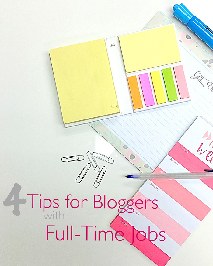 The Blog Societies - 4 Tips For Bloggers With Full Time Jobs