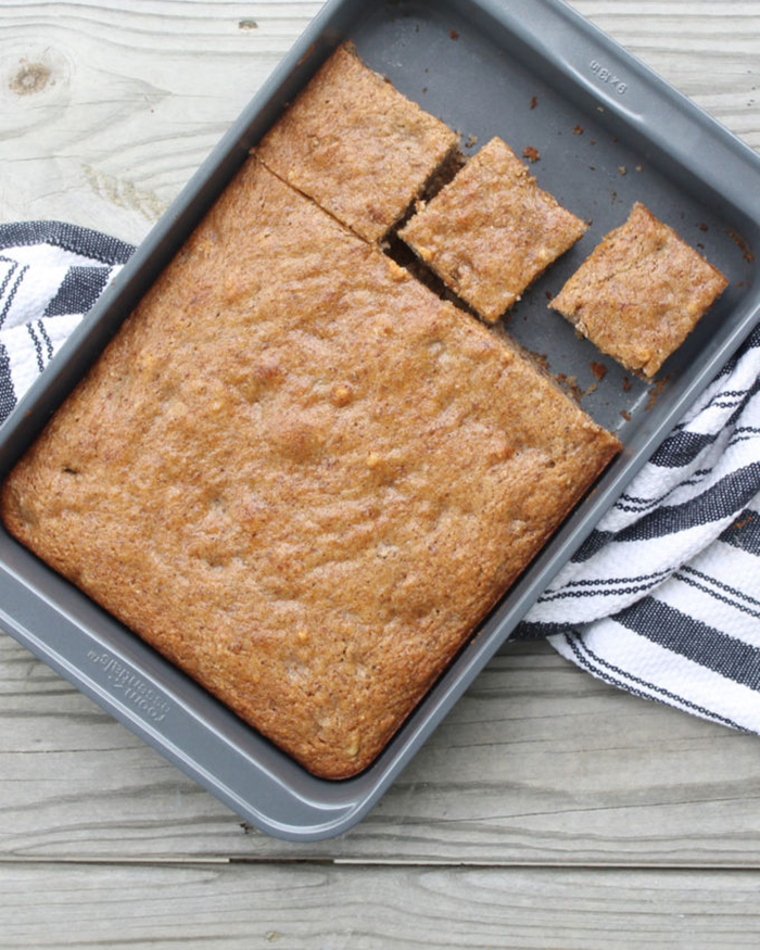 The Blog Societies - Healthier Vegan Banana Cake With Almond Flour