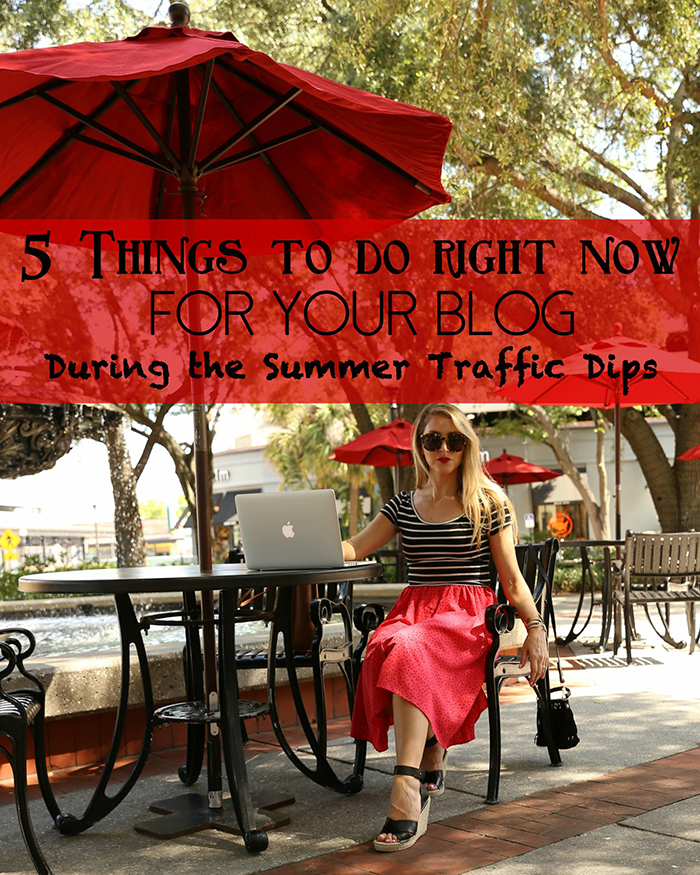 5 Things To Do For Your Blog During the Summer Traffic Slumps - The Blog Societies