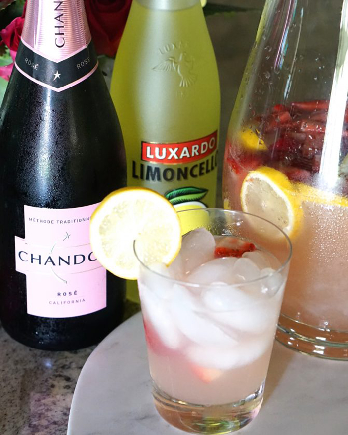 The Blog Societies - Strawberry Limoncello Rosé